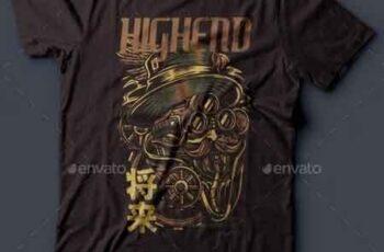 Highend T-Shirt Design 22061797 3