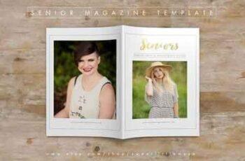 Senior Photography Magazine Template 341077 7