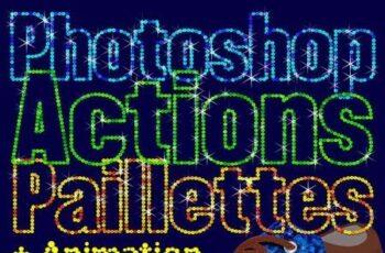 Paillettes Sequins Photoshop Actions 22730404 12