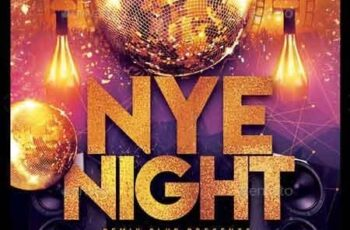 New Year Party Flyer 22799210 3