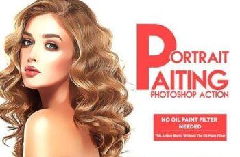 Portrait Painting Photoshop Action 3194274 3