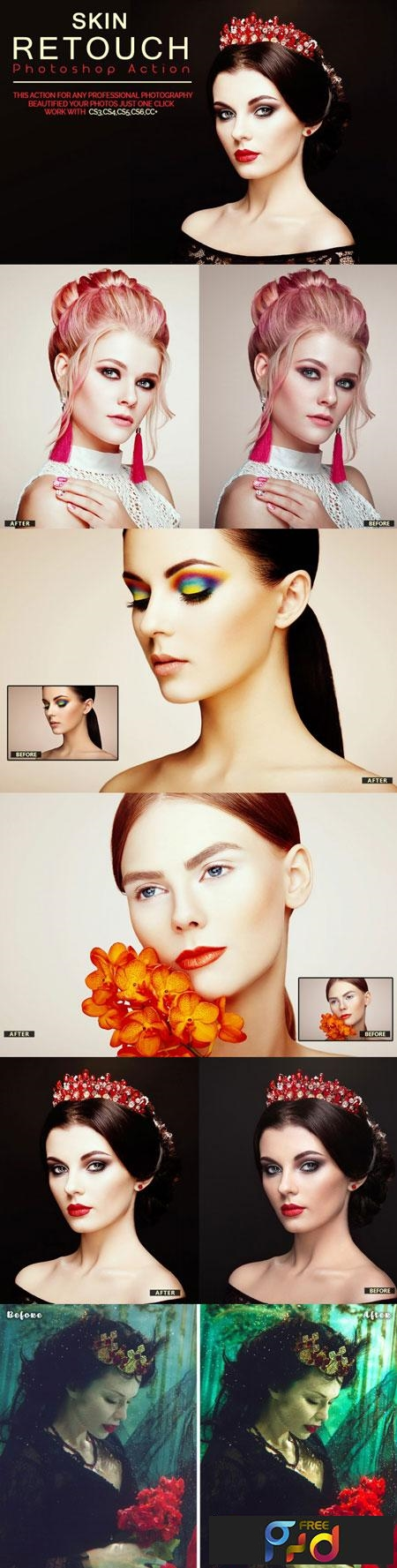 Skin Retouch Photoshop Action 3509467 1