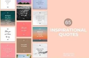 65 Inspirational Quotes Pack 3117534 6