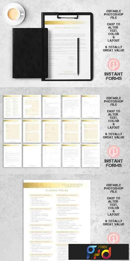 Wedding Planner Contract & Forms 2741551 1