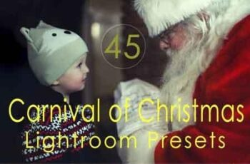 Carnival of Christmas Lightroom Presets 3506140 5