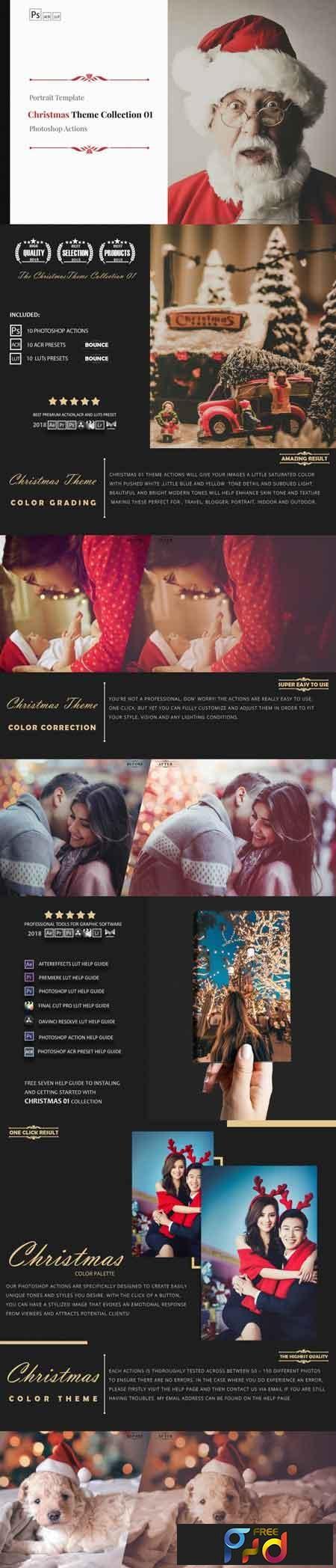 Christmas Theme Color Grading Collection 01 3509435 1