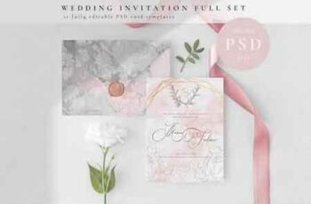 Wedding Invitation Full Set 3155138 3