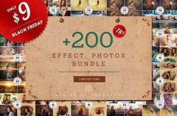 + 200 Effect Photos Bundle 3170736 3