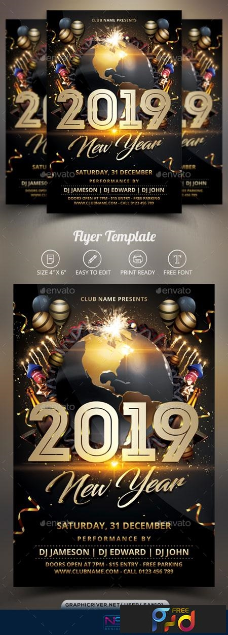 New Year Flyer 22824805 1