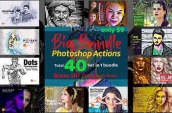 Photoshop Actions Big Bundle 3187590 4