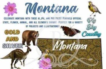 Montana- Awesome America Series 722417 5