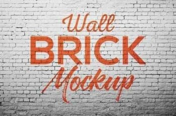 Wall brick Mock Up 1470784 2
