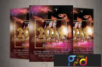 New Year Eve Flyer Poster 3163751 7
