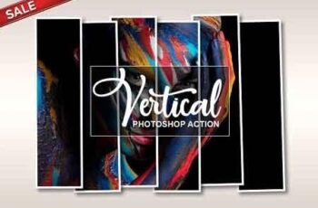 Vertical Panel Photoshop Action 3162480 6