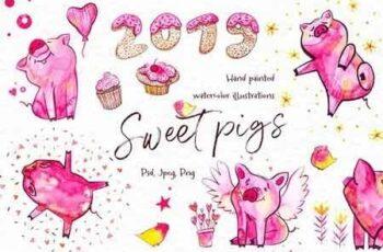 Sweet pigs 2019 3094722 4