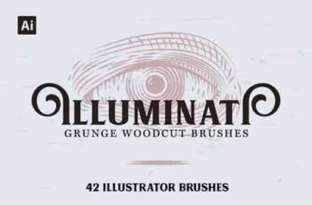 Illuminati Woodcut Brushes 5