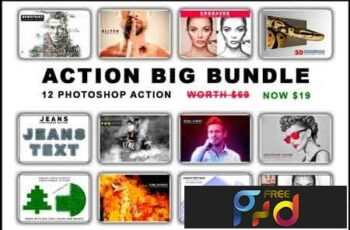 Photoshop Action Mega Bundle 3511249 4