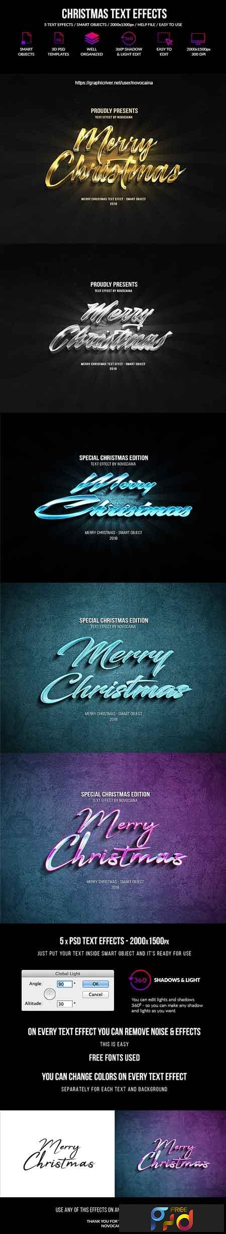 Christmas Text Effects 22809260 1