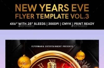 New Years Eve Flyer Template Vol 3 22817997 5