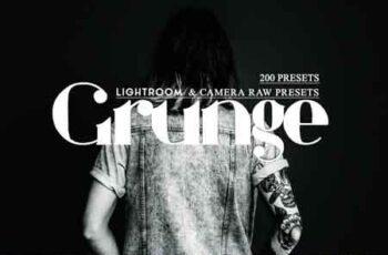 Lr & Ps Presets ACR - Grunge 3511290 3
