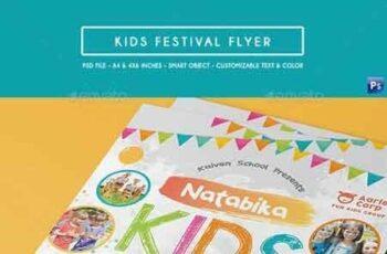 Kids Festival Flyer 18953464 8