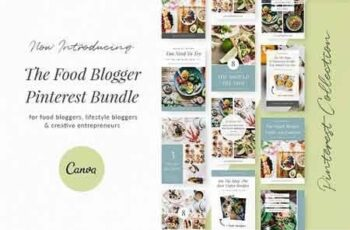 Food Blogger Pinterest Templates 3055057 4
