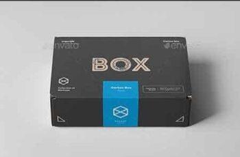 Carton Box Mock-up 235x160x70 22851017 7