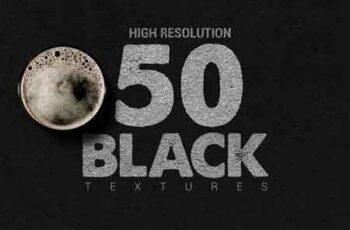 50 Black Textures (Blackfriday -50%) 3176726 6