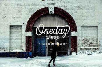 Oneday Winter Lightroom presets 2148764 7
