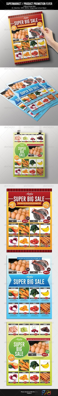 Supermarket Product Promotion Flyer 19621928 1