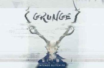 Grunge Glitch Photo FX 933453 2