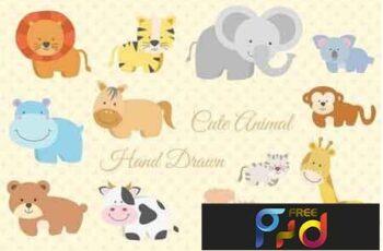 12 Animal Hand Drawn 2619077 6
