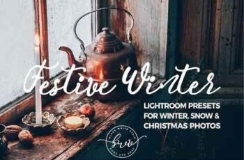 Festive Winter Preset Bundle 3237819 6