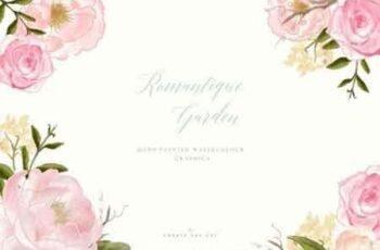 Flower Clip Art - Romantique Garden 2582839 5