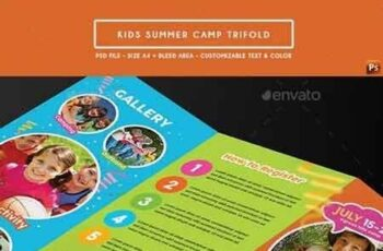 Kids Summer Camp Trifold 19559166 4