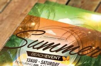 Summer Event Flyer Invitation 11286637 2