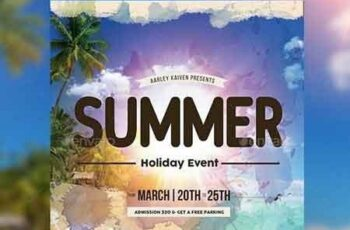 Summer Holiday Event Flyer 17373420 7
