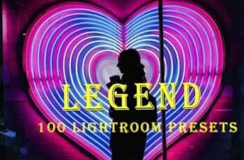 100 Legend Lightroom Presets 3513206