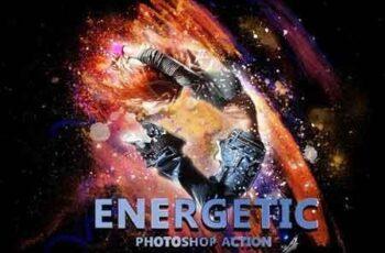 Energetic Photoshop Action 3277723 4