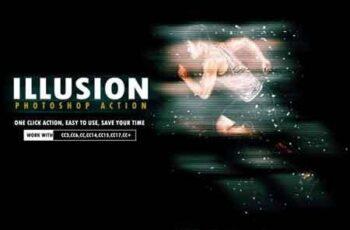 Illusion Photoshop Action 3514911 3