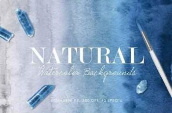 Natural Watercolor Ombre Backgrounds 2924705 7
