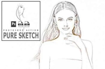 Pure Sketch Photoshop Action 3513122 6