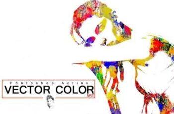 Vector Color ART Photoshop Action 3513123 4