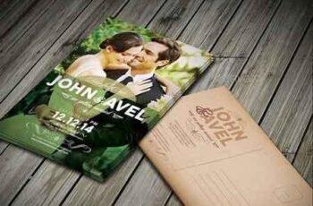 Wedding Invitation & RSVP 9665213 5