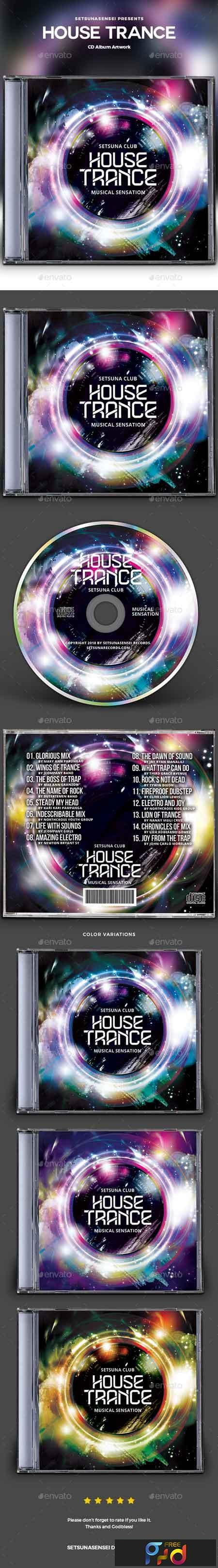 House Trance CD Album Artwork 22830517 1