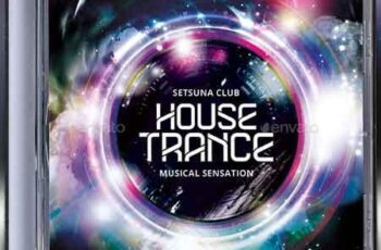 House Trance CD Album Artwork 22830517 4