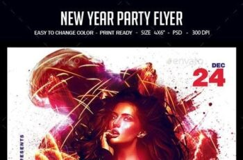 New Year Party Flyer 22872923 7