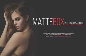 MATTEBOX Photoshop Action 3292474 8