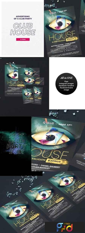 Club House Flyer 2880316 1