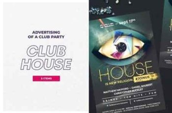 Club House Flyer 2880316 4
